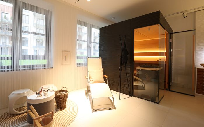 Sauna en Wellness, showroom Frankfurt
