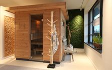Sauna en Wellness, showroom Frankfurt: Sauna's