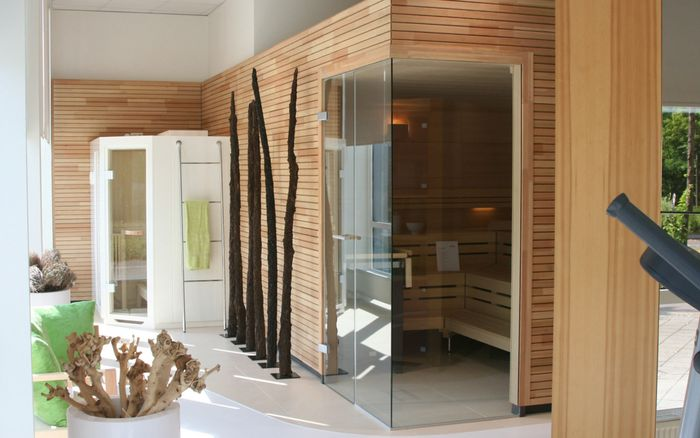 Sauna en Wellness, showroom Leipzig