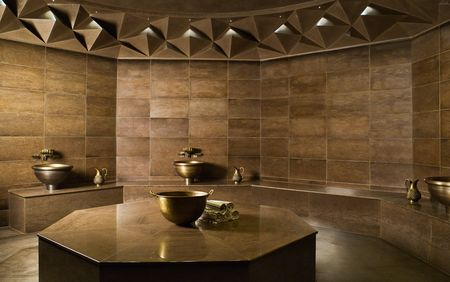 Sauna-, Spa- en Wellnessreferenties: The Istanbul Edition; spa-landschap