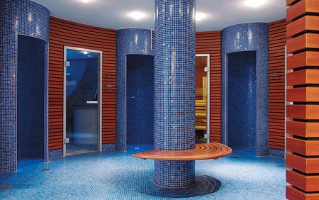 Sauna-, Spa- en Wellnessreferenties: Traube Tonbach; doucheruimte