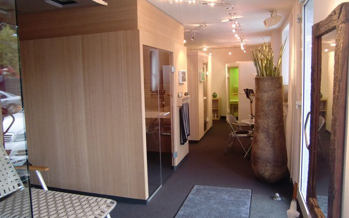 Sauna en Wellness, showroom München: Showroom