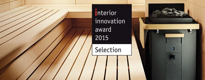 Saunakachel MAJUS Interior Innovation Award