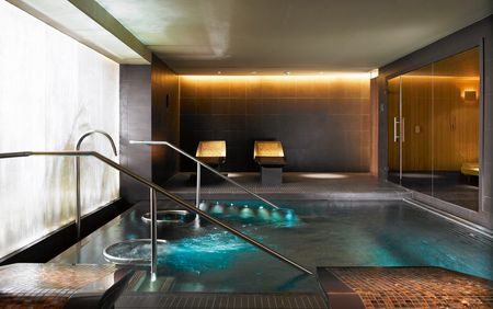 Sauna-, Spa- en Wellnessreferenties: The Gleneagles®; dompelbad en sauna