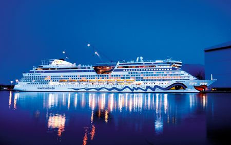 Sauna-, Spa- en Wellnessreferenties: Aida Cruises; cruiseschip