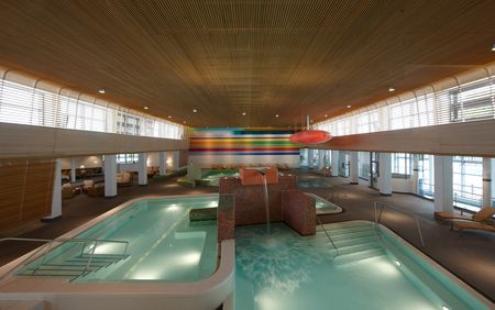 Sauna-, Spa- en Wellnessreferenties: Vitasol Therme; spa-ruimte